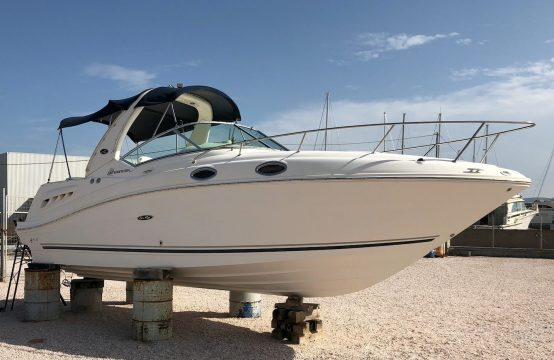 Sea Ray 275 Sundancer – (without engine)